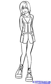 10 how to draw kairi