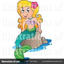mermaid clipart 1064159 illustration by visekart