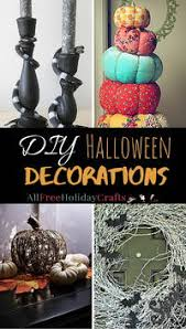 Recycled Halloween Crafts - go green