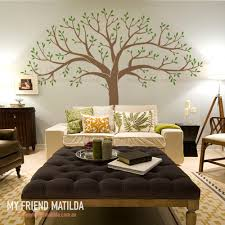 17 large wall tree decal large tree with leaves and birds decal new large family tree wall decal sticker removable wall decals