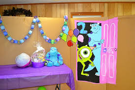 Monster Inc Baby Shower Decorations Monsters Inc Birthday Party Ideas Photo 5 Of 34 Catch My Party