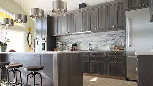 Warm And Grey Kitchen Cabinets Home Design Lover - Gray kitchen cabinets