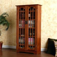 Multimedia Cabinet With Glass Doors Multimedia Storage Cabinet With Doors Storage Cabinet With Doors