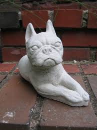 boston terrier statue terrier figure garden statues of dog