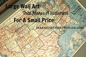 inexpensive wall art that will make a big statement sarah and
