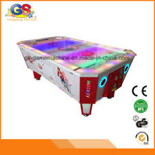 kids air hockey table china kids coin operated ice air hockey table game machine for sale