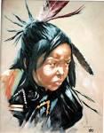 090 1984 Indian Girl .jpg - 090 1984 Indian Girl