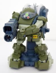 armored trooper votoms gagan gun armored trooper votoms scopedog model by takara tomy