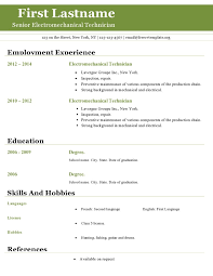 Employment Resume Examples by Resume Examples 10 Best Free Resume Templates For Openoffice Free