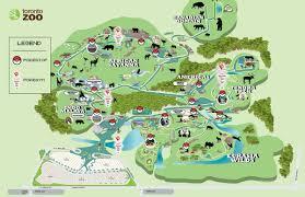 Zoo Map Toronto Zoo Map Map Of Toronto Zoo Canada