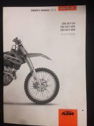 ktm owners manual 2014 250 sx f eu 250 sx f usa 250 xc f usa u2022 cad