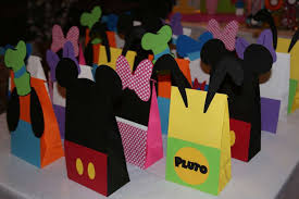mickey mouse gift bags mickey mouse clubhouse birthday party ideas photo 1 of 27