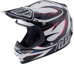 clearance motocross helmets troy lee designs se4 factory carbon white motocross helmets unisex