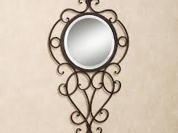 decor 53 round wall mirror mirror wrought iron wall decor metal