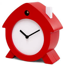 home sweet home cuckoo clock red designer mantel clock