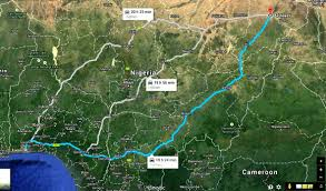 Map Of Nigeria Africa by Trans Nigeria Zero Emission Vehicle Endurance Expedition Eco