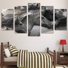 horse painting gray promotion shop for promotional horse painting