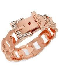 crystal buckle bracelet images Guess rose gold tone crystal buckle hinge bangle bracelet tif