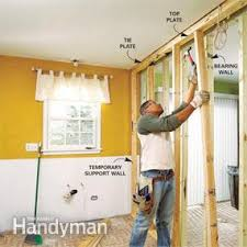 how to install a load bearing wall beam family handyman