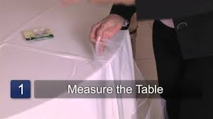 how to use tulle to decorate a table how to decorate wedding tables with tulle youtube