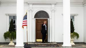 Nj Flags Half Staff Inside Bedminster President Trump U0027s New Jersey Pleasure Palace