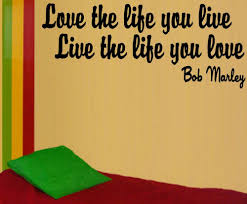 bob marley quotes decals stickers vinyl art ebay love the life you live bob marley quote window decal rasta 420 vinyl sticker usa