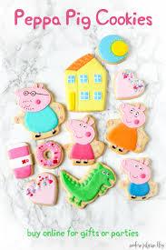 peppa pig birthday ideas peppa pig cookies skills