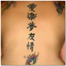 chinese symbol tattoo and juggalo tattoo design ideas