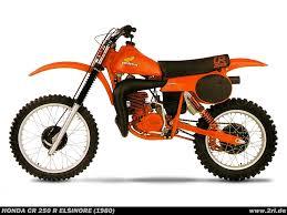 model motocross bikes honda cr 250 r elsinore 1980 classic motocross pinterest