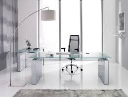 Modern Glass Office Desks Pin By Suzette Mariel On For My Office Pinterest Modern Glass
