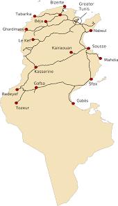 France Rail Map by Rail Transport In Tunisia Wikipedia