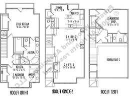apartments narrow lot 3 story house plans narrow lot 3 story