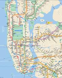Map Of New York And Manhattan by The New York New Jersey Subway Map Designed For The Super Bowl
