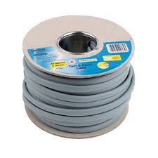 twin and earth cable 2 5 sq mm 6242yh grey 25m at homebase co uk