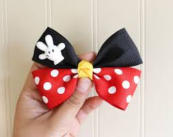 minnie mouse hair bow minnie mouse hair bow minnie mouse hair disney bow