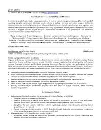 Construction Superintendent Resume Samples by Download Construction Resume Haadyaooverbayresort Com