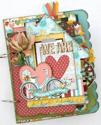 scrapbook album kits 111 best scrapbook mini album kits images on mini