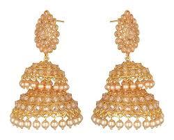 danglers earrings design earrings jhumka pearl dangler jyotsna bhatia