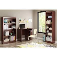 South Shore Axess Small Desk South Shore Axess Desk In Royal Cherry 7246075 The Home Depot