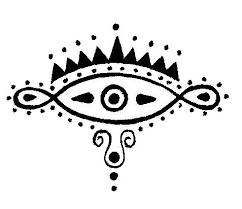 henna style tattoo symbol by akaladyluck on deviantart