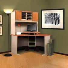 Office Hutch With Doors Furniture Bestar Hampton Corner Workstation Perfect For Your