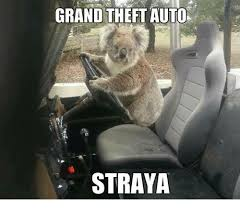 Straya Memes - grand theft auto straya meme on me me