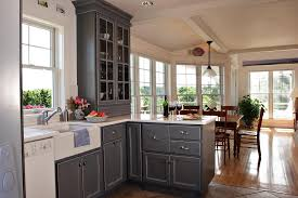 gray kitchen cabinets galveston gray cabinets kitchen painted