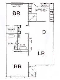 600 square foot apartment floor plan 2 bedroom 2 bath floor plans inspirational with 600 square feet