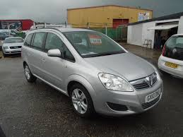 vauxhall zafira 2008 used vauxhall cars for sale in eastbourne east sussex lottbridge