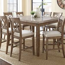 Tall Dining Room Tables Piece Counter Height Set In Ideas - Dining room tables counter height