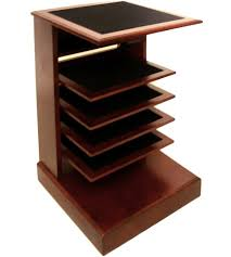 Rotating Desk Organizer by Floor Magazine Racks Holders And Baskets Organize It
