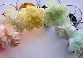 food coloring u003d rainbow flowers