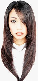 long straight hairstyles layered toward face beautiful asian hairstyle i love this haircut buhok ko du