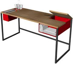 Modern Metal Desks by Metal And Wood Desk
